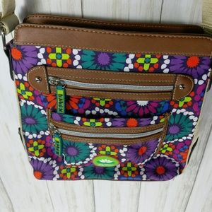 Lily Bloom Bags - Lily Bloom Floral Cross-body Bag NWOT
